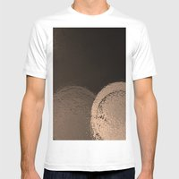 Dark Night Sepia Mens Fitted Tee White SMALL