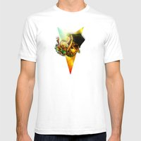Flip Top Box Mens Fitted Tee White SMALL