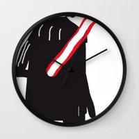you are drawing vader Wall Clock