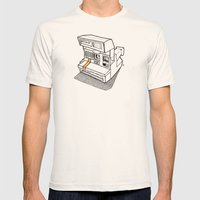 Polaroid Spirit 600 CL Mens Fitted Tee Natural SMALL