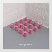 Variation Number 7 (phot… Canvas Print
