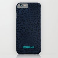 iPhone & iPod Case featuring Modern Woodgrain Camouflage / Zaire KDP Print Purple by MSTRPLN®