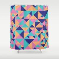 Triangular Shower Curtain