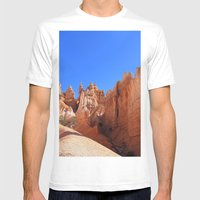Bryce Canyon Mens Fitted Tee White SMALL