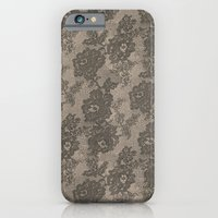 VINTAGE LACE I iPhone 6 Slim Case
