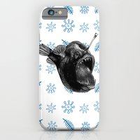 iPhone & iPod Case featuring Ms Anglerfish by Heather Bechler