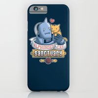 iPhone & iPod Case featuring Alphonse's Cat Sanctuary by adho1982