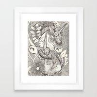 Inner Princess Framed Art Print