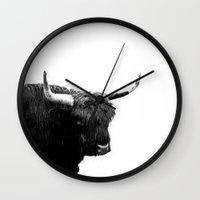 Lumbering Beast II  Wall Clock