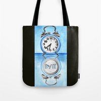 Pause Button Tote Bag