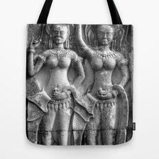 Cambodian Erotic Goddesses Tote Bag