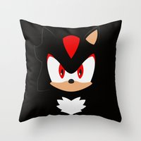 Shadow the Hedgehog Throw Pillow