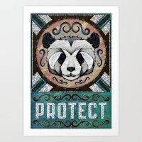 Protect Art Print