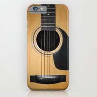 iPhone & iPod Case featuring Guitar by Nicklas Gustafsson