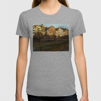 Judith's Walk Womens Fitted Tee Tri-Grey SMALL