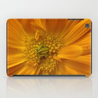 Orange Flower iPad Case