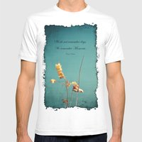 Moments Mens Fitted Tee White SMALL