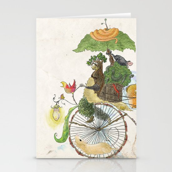 The Life Cycle Stationery Card