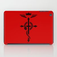 Fullmetal Alchemist Flamel - Black iPad Case