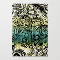 Swirl and Curl Canvas Print