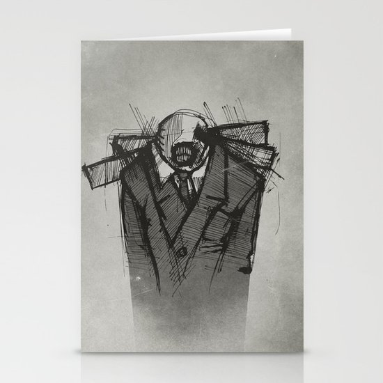 Wraith I. Stationery Card
