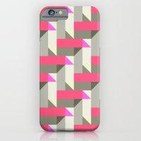 iPhone & iPod Case featuring Herringbone geometric by Katy Clemmans