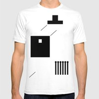Haus 2 Mens Fitted Tee White SMALL