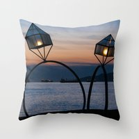 Rings Throw Pillow