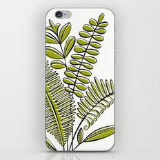 Fern Study iPhone & iPod Skin