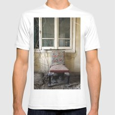 Whore Chair White Mens Fitted Tee SMALL