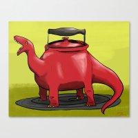 Dinotea Canvas Print