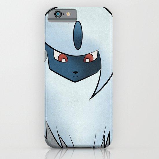 #359 Absol - Minimalism Pokemon Poster iPhone & iPod Case