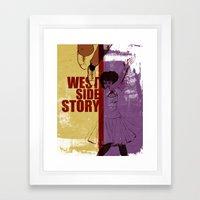 West Side Story Framed Art Print