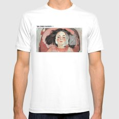 Virgin Suicides Mens Fitted Tee White SMALL