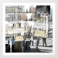 Fleeting About The Teem … Art Print