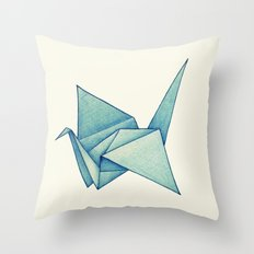 High Hopes | Origami Crane Throw Pillow