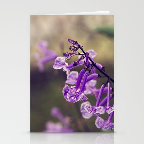 Mona Lavender Stationery Card