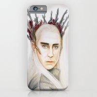iPhone & iPod Case featuring Thranduil by Olivia Nicholls-Bates