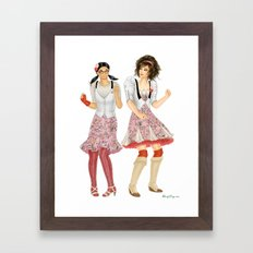 Fashion Journal: Day 24 Framed Art Print