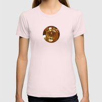 Red Lion Womens Fitted Tee Light Pink SMALL