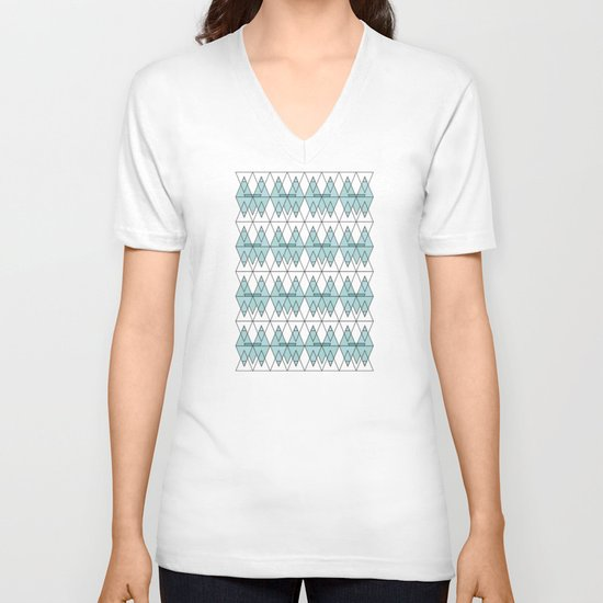 spo·rad·ic  V-neck T-shirt