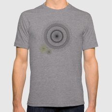 Modern Spiro Art #2 Mens Fitted Tee Athletic Grey SMALL