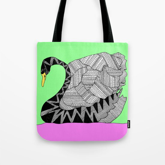 Another Swan Tote Bag