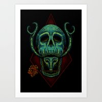 Poison Love Art Print