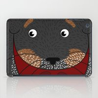 Dog Love,  kids wall art, Cute, fun prints of animals in love, Mix and Match Them!! iPad Case