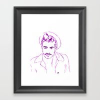 Jonn Framed Art Print