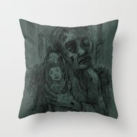 I Miss You Alison Throw Pillow