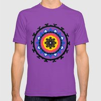 Bold and bright beauty of suzani patterns ver.9 Mens Fitted Tee Ultraviolet SMALL