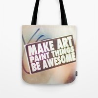 Hello Art Tote Bag