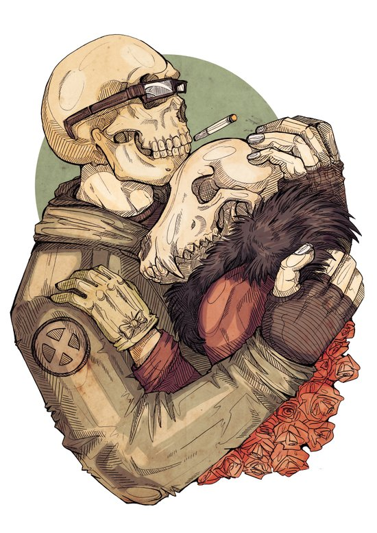 Weird Love Art Print